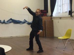 Keith performing magic