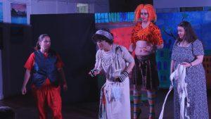Aladdin, Widow Twanky and the Ugly Sisters